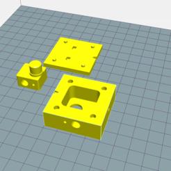 Free STL file Mould for Hexagon extruder, La3Dfacile