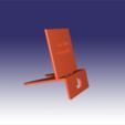 Free STL Smart Phone Galaxy 5 support, La3Dfacile