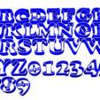 abc copper.png Download free STL file ABC + NUM 2CM Cooper Cookie cutter • 3D printable design, CutterLabs