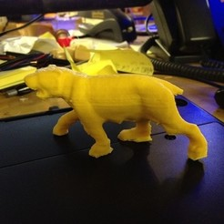 Free STL file Grande Yellow Cat, RodrigoPinard