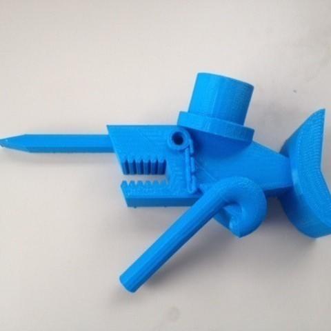 Download free 3D printer designs Mr. Narwhal About Town, RodrigoPinard