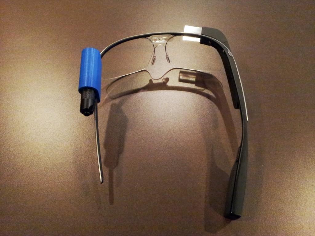 20130813_120851_display_large.jpg Télécharger fichier STL gratuit G-Torch (Google Glass Torch) • Objet pour impression 3D, DelhiCucumber