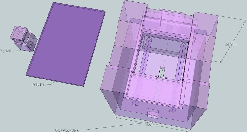 10_display_large_display_large.jpg Download free STL file 8-bit Piggy Bank • 3D printer object, DelhiCucumber