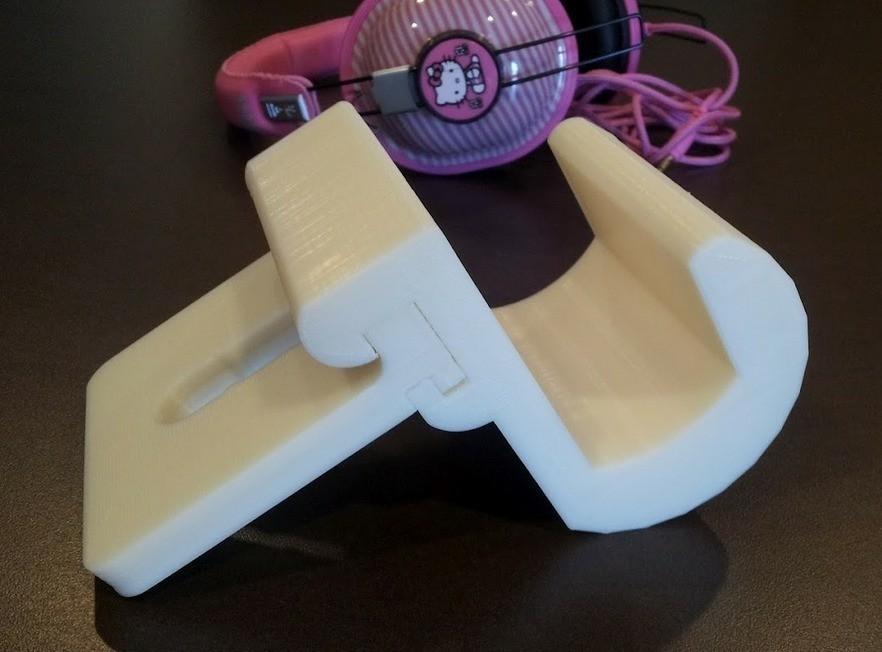 7_display_large_display_large.jpg Download free STL file Headrest Headphone Hook System • 3D printer design, DelhiCucumber