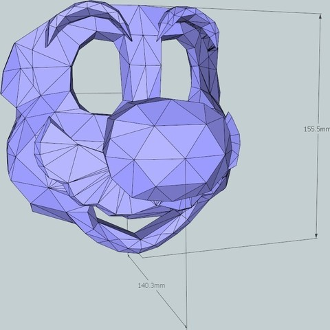 1_display_large_display_large.jpg Download free STL file 16 Bit Plumber Mask • Design to 3D print, DelhiCucumber
