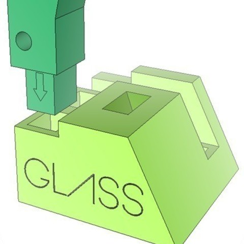 GB1_display_large.jpg Download free STL file Google Glass Base • Template to 3D print, DelhiCucumber