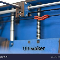 Free 3D printer files Ultimaker Belt Tensioner, DelhiCucumber