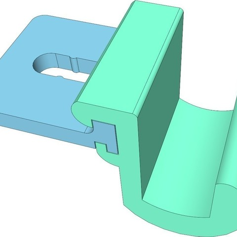 1_display_large_display_large.jpg Download free STL file Headrest Headphone Hook System • 3D printer design, DelhiCucumber