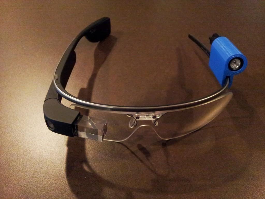 20130813_120835_display_large.jpg Télécharger fichier STL gratuit G-Torch (Google Glass Torch) • Objet pour impression 3D, DelhiCucumber