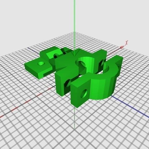 RadarDetectorMount_display_large_display_large.jpg Download free STL file Radar Detector Mount • 3D printer template, DelhiCucumber