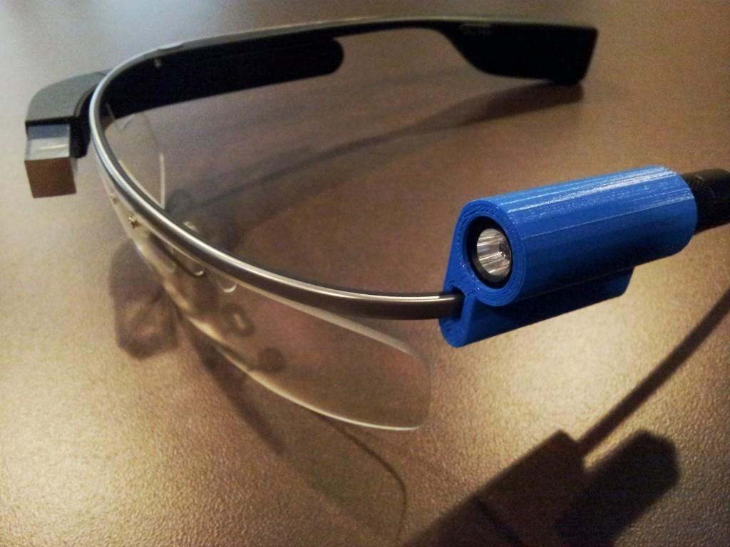 20130813_120905_display_large.jpg Télécharger fichier STL gratuit G-Torch (Google Glass Torch) • Objet pour impression 3D, DelhiCucumber