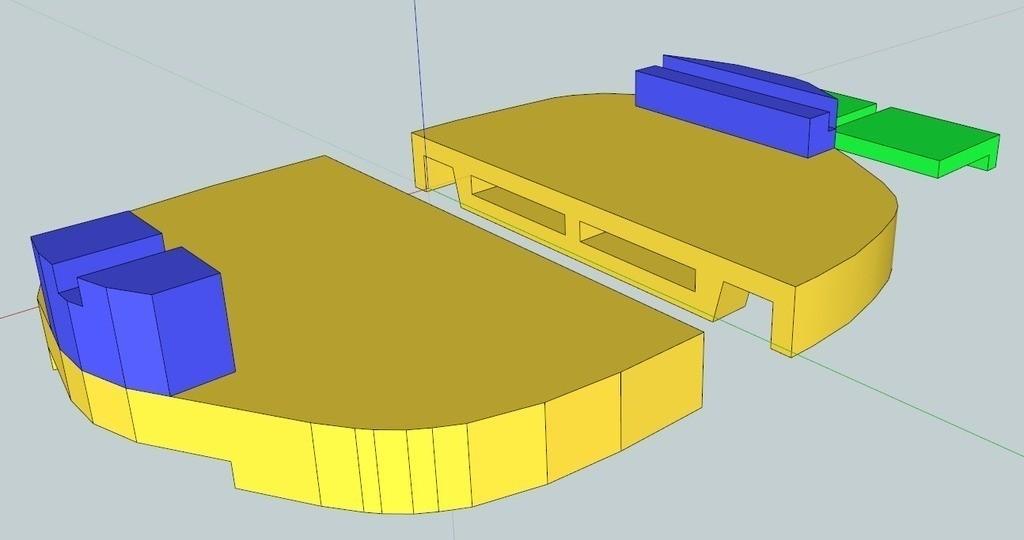 AllParts_display_large_display_large.jpg Télécharger fichier STL gratuit Capuchons de phares VW Passat HID • Objet imprimable en 3D, DelhiCucumber