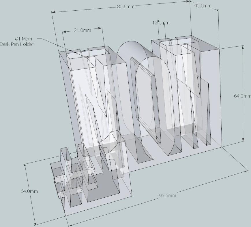 2_display_large_display_large.jpg Télécharger fichier STL gratuit #1 Maman / Maman • Design à imprimer en 3D, DelhiCucumber