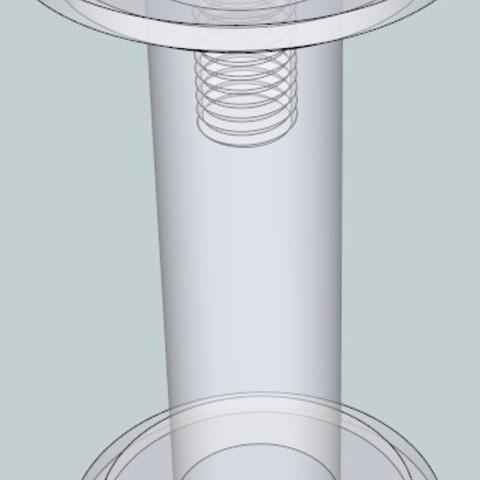 2_display_large.jpg Télécharger fichier STL gratuit Porte-bobine à petit noyau • Plan à imprimer en 3D, DelhiCucumber