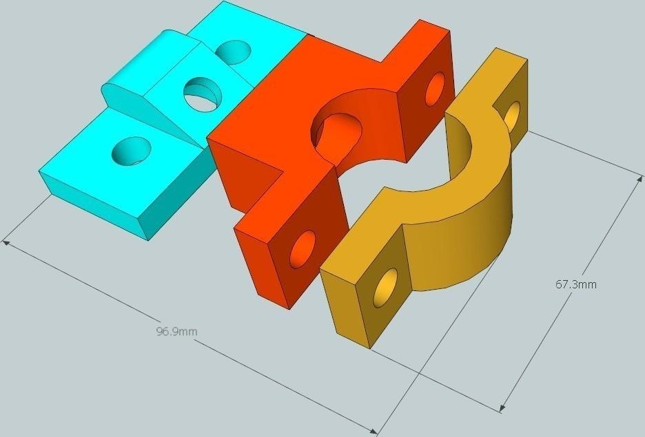 3_display_large_display_large.jpg Download free STL file Radar Detector Mount • 3D printer template, DelhiCucumber