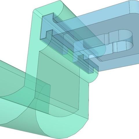 2_display_large_display_large.jpg Download free STL file Headrest Headphone Hook System • 3D printer design, DelhiCucumber