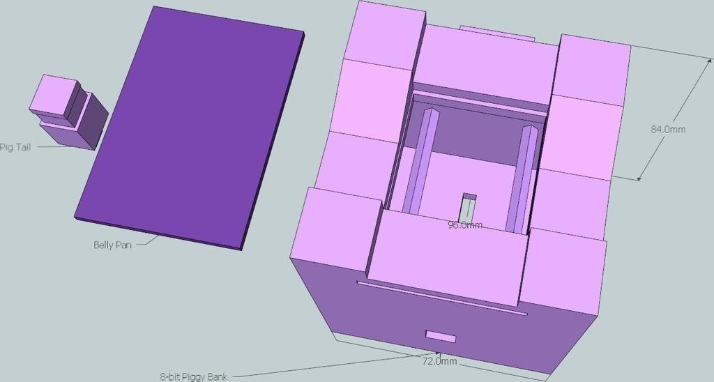 9_display_large_display_large.jpg Download free STL file 8-bit Piggy Bank • 3D printer object, DelhiCucumber