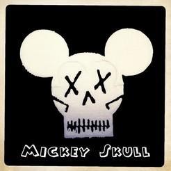 Download free STL files Mickey Skull, enzordplst