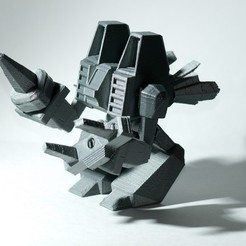 Download free 3D printing templates Exoskeleton Crystal Harvester is Ready to Go!, enzordplst