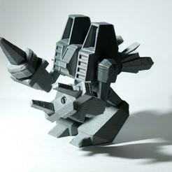 Télécharger modèle 3D gratuit Exosquelette Crystal Harvester est prêt à partir !, enzordplst