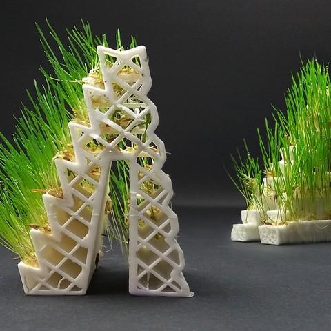 Free 3D model GROWLAY Filament for Planters, breeding ground, Kaipa