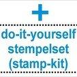 Download free 3D printer designs polymer stamp handle / pluggable handle, Kaipa