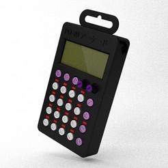 Descargar modelos 3D gratis PO-20 Botones de símbolos para el maletín Pocket Operator, crashdebug