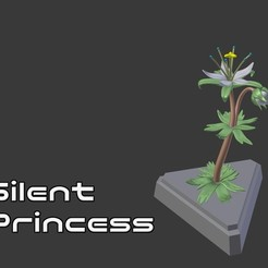 Free 3D printer designs Legend of Zelda - Silent Princess, crashdebug