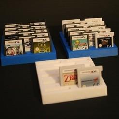 Descargar modelo 3D gratis Almacenamiento de cartuchos de Nintendo DS 3DS, crashdebug