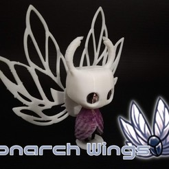 Descargar diseños 3D gratis Caballero hueco - Alas de monarca, crashdebug