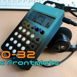 Descargar Modelos 3D para imprimir gratis PO-32 Placa frontal del micrófono, crashdebug
