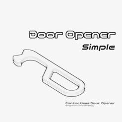 Descargar diseños 3D gratis Abridor de puerta simple, crashdebug