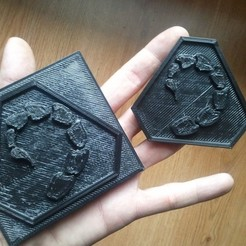 Télécharger plan imprimante 3D gatuit Logotype NOD, Loustic3D888