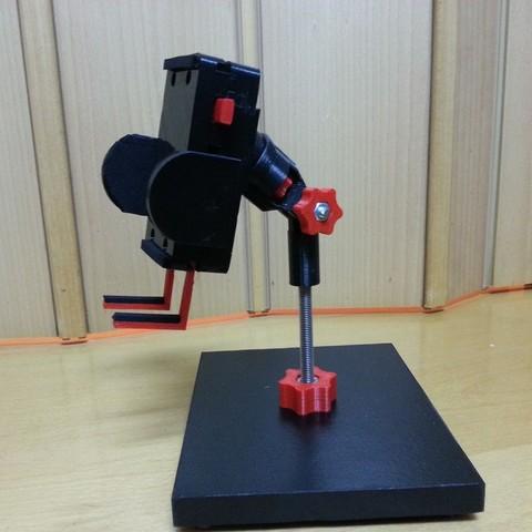 Free 3D print files Soporta smartphones -HugeHug- smartphone stand, Loustic3D888