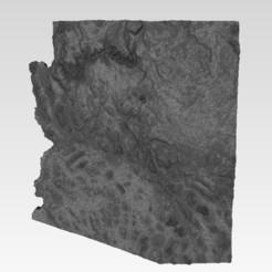 Fichier imprimante 3D gratuit Terrain Arizona, Loustic3D888