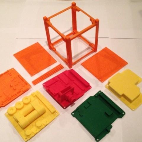 Télécharger plan imprimante 3D gatuit ArduSat, Loustic3D888