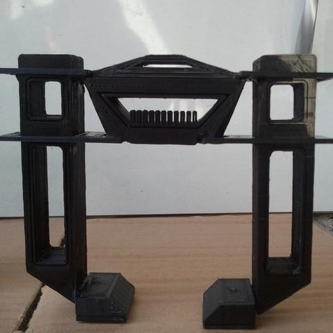 Download free 3D printer designs Recognizer - TRON Legacy, Loustic3D888