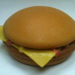 Télécharger modèle 3D gratuit Cheeseburger au fromage, Loustic3D888