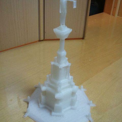 Télécharger fichier STL gratuit Monumento de los Fueros Pamplona • Design pour imprimante 3D, Loustic3D888
