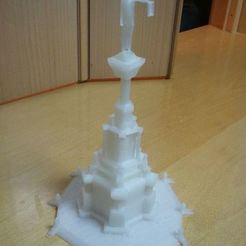 Download free 3D printer templates Monumento de los Fueros Pamplona, Loustic3D888