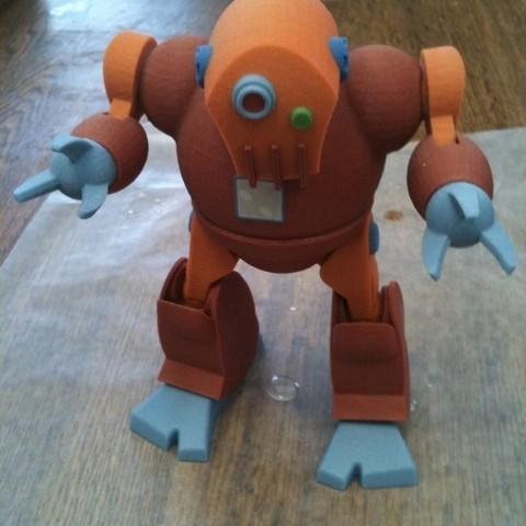 Télécharger fichier STL gratuit Robot SpaceClaim, Loustic3D888