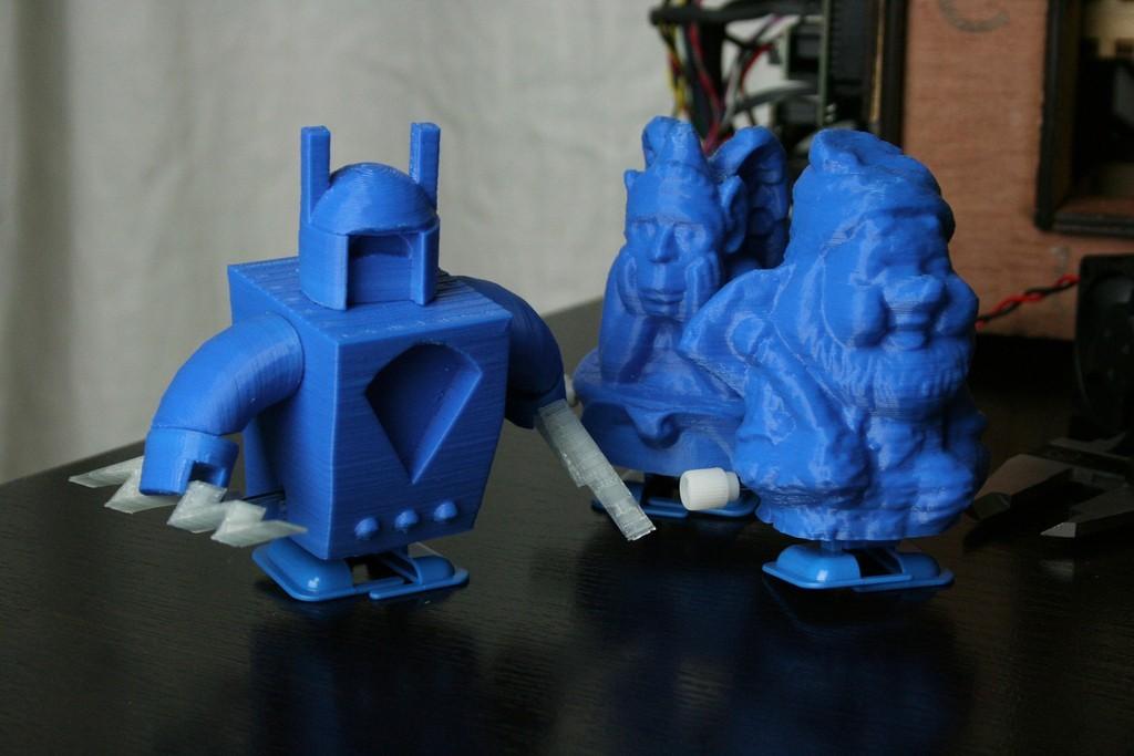 finishedwalkers4_display_large.jpg Download free STL file Walkers • Design to 3D print, FunnyJohnnyPrinter