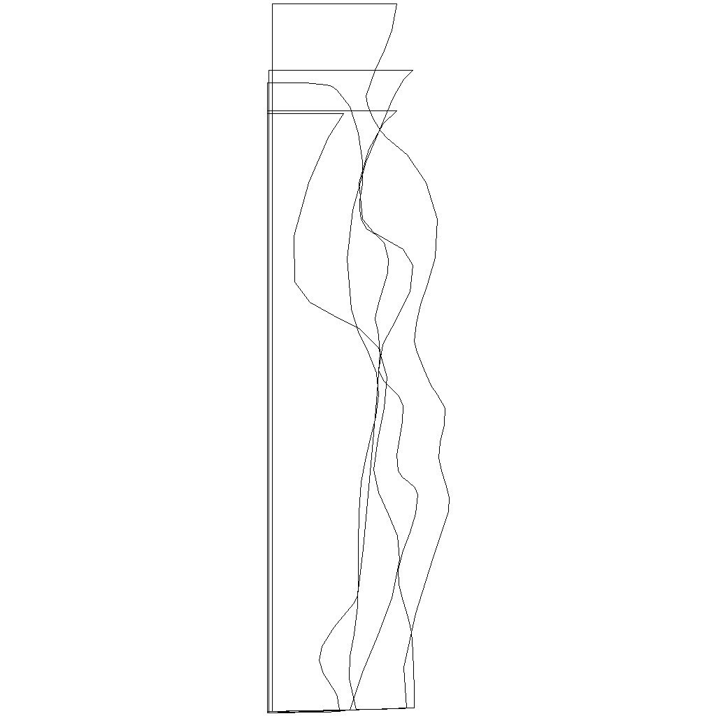 lines_display_large.jpg Download free STL file Squiggle Vases • Object to 3D print, FunnyJohnnyPrinter