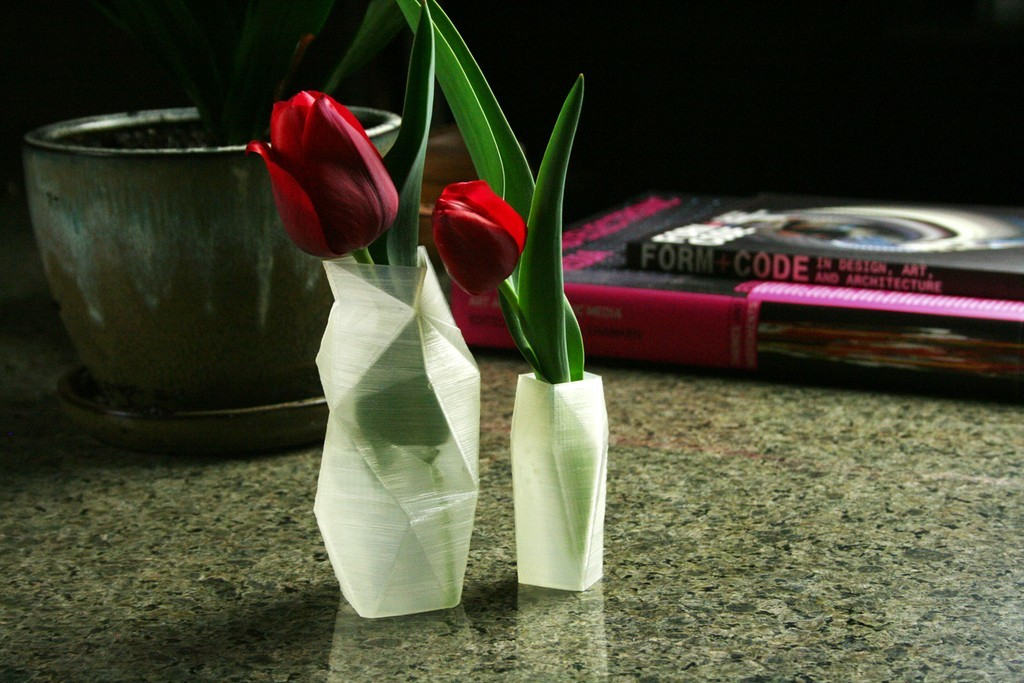 finishedsquigglevases4_display_large.jpg Download free STL file Squiggle Vases • Object to 3D print, FunnyJohnnyPrinter