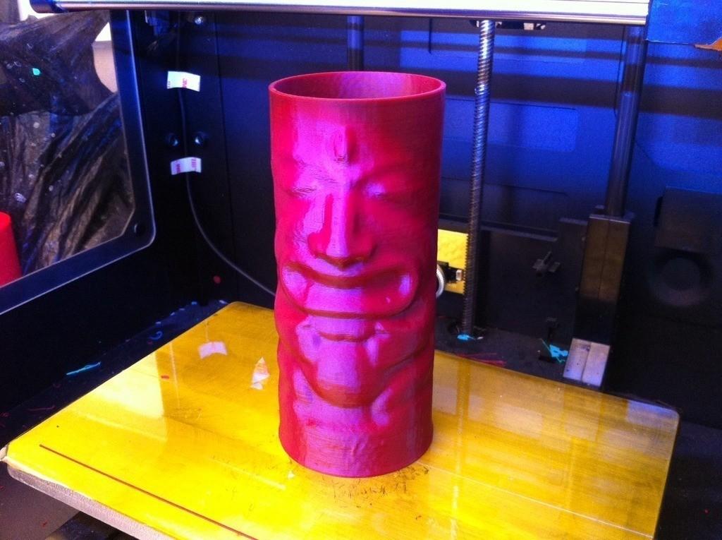 tiki_display_large.jpg Télécharger fichier STL gratuit Tiki Cup • Plan pour imprimante 3D, ErnyCrazyPrinter