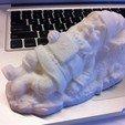 Download free 3D printing designs Sleeping Gnome, ErnyCrazyPrinter