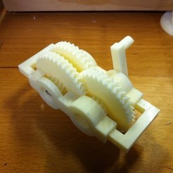 Free 3D model Parametric 27 to 1 Gearset, ErnyCrazyPrinter