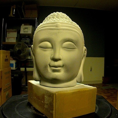 Download free 3D printing models Buddha Insense Burner Scan, ErnyCrazyPrinter