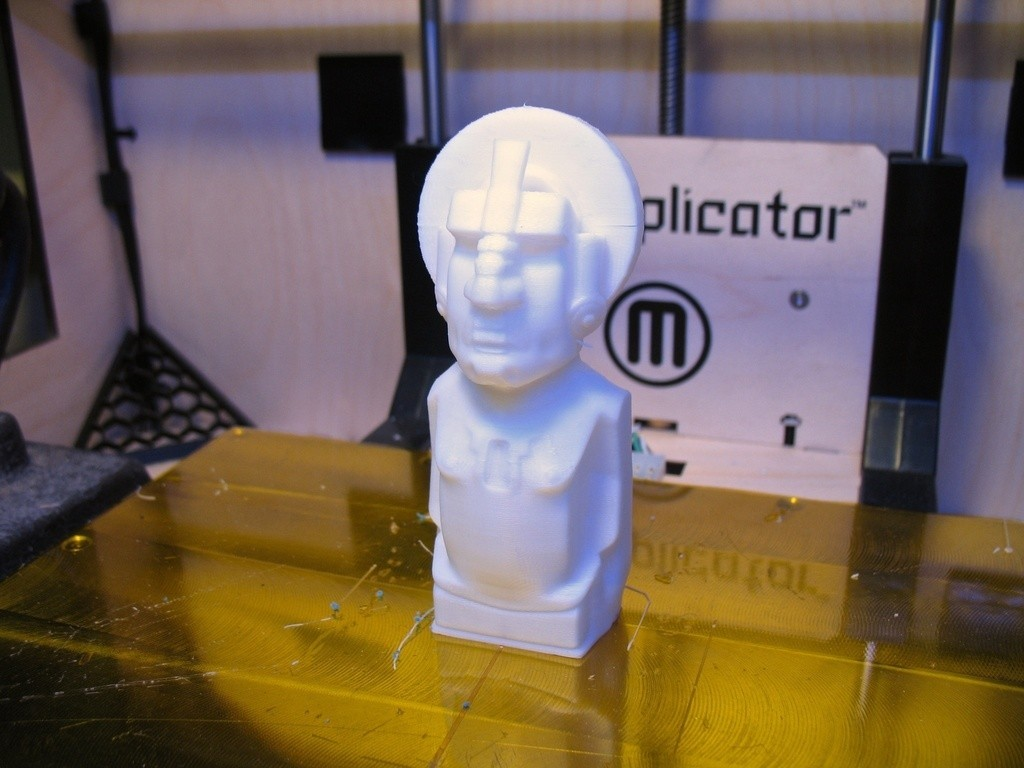 8165537562_c64cbe52f9_o_display_large.jpg Download free STL file Dimetrii's Tiki Statue • 3D printing template, ErnyCrazyPrinter