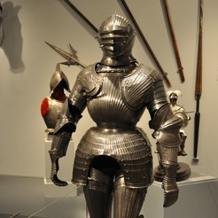 Download free 3D printing templates Maximilian Armor, ErnyCrazyPrinter